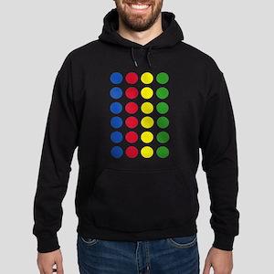 Twister Dots Hoodie (dark)