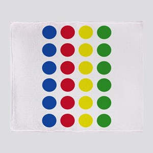 Twister Dots Throw Blanket