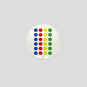 Twister Dots Mini Button