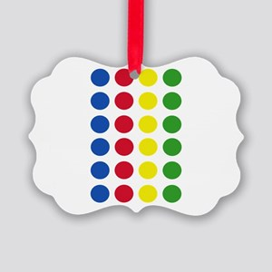 Twister Dots Picture Ornament
