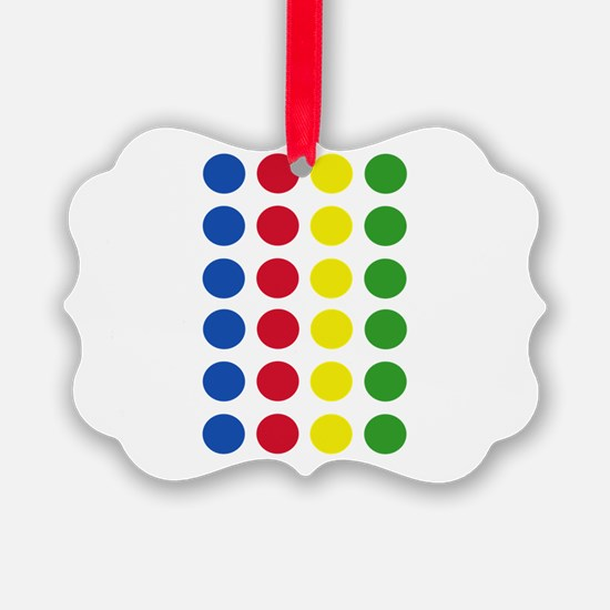 Twister Dots Ornament