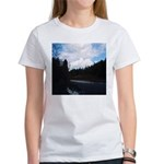 Eel River with Clouds Women's T-Shirt