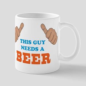 This Guy Needs a Beer Mug