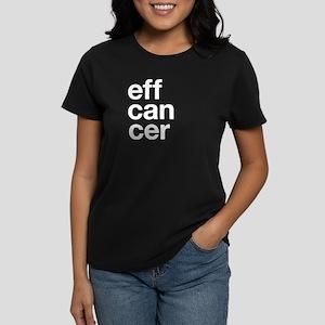 Eff You, Cancer Organic Women's T-Shirt (black) T-