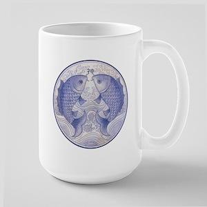 Asian Icthus Large Mug
