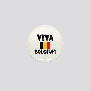 Viva Belgium Mini Button
