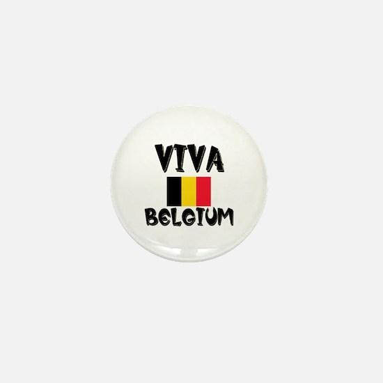 Viva Belgium Mini Button