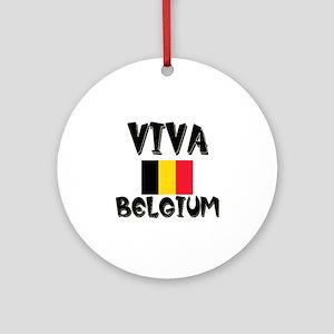 Viva Belgium Ornament (Round)