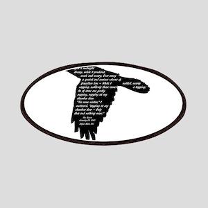 The Raven - Edgar Allan Poe Patches