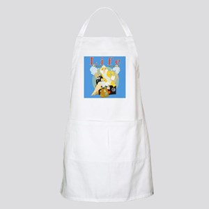 Life Travel Number Apron