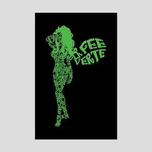 Swirly La Fee Verte Mini Poster Print