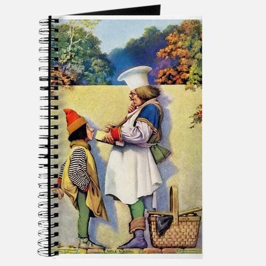 Simple Simon Met a Pieman Journal
