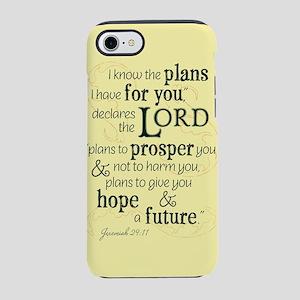 Jeremiah 29:11 hope and a future iPhone 7 Tough Ca