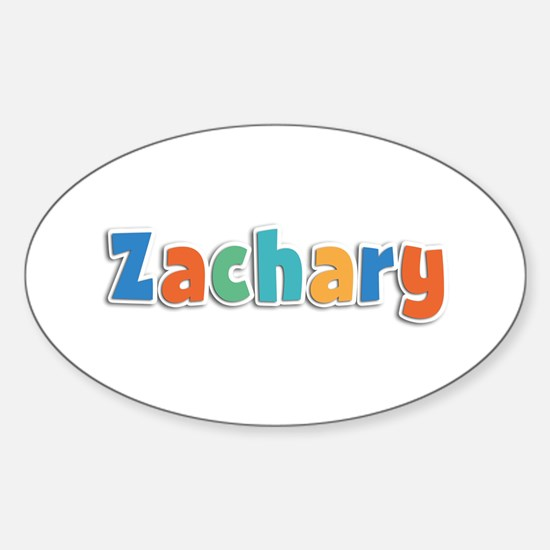 Zachary Spring11B Oval Decal