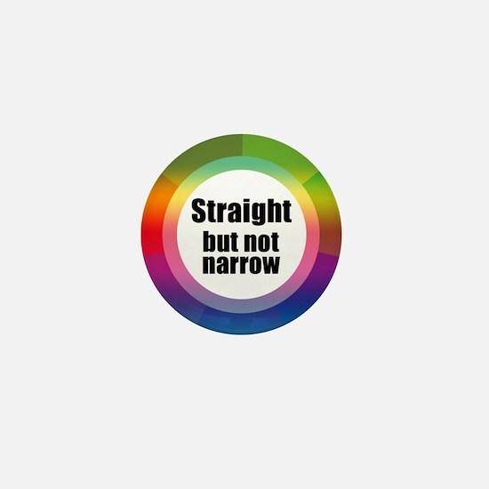 Cute Straight but not narrow Mini Button