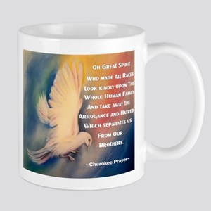 Cherokee Peace Prayer Mug