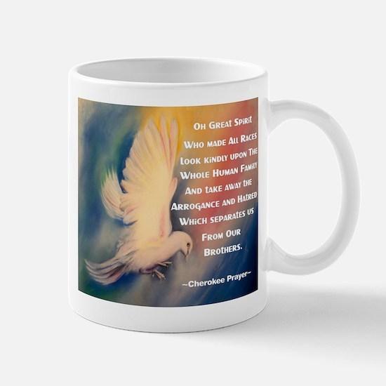 Cherokee Peace Prayer Mug