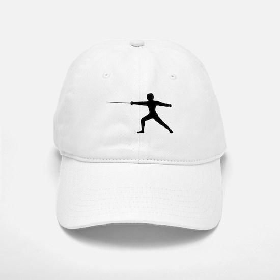 Guy Fencer Baseball Baseball Cap