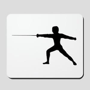 Guy Fencer Mousepad
