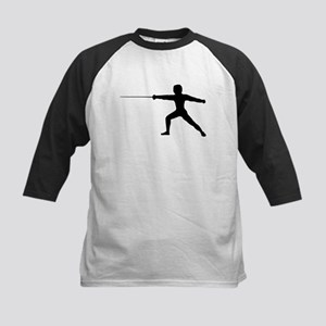 Guy Fencer Kids Baseball Jersey