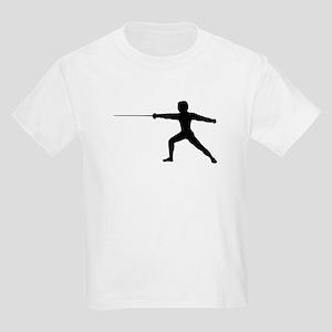 Guy Fencer Kids Light T-Shirt