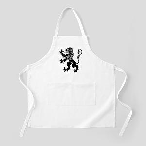 Black Lion Rampant Apron