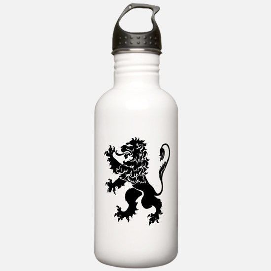 Black Lion Rampant Water Bottle
