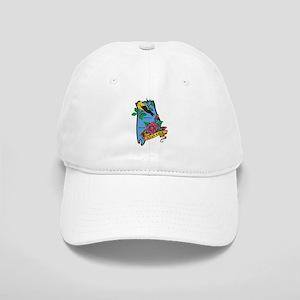 Alabama Map Cap