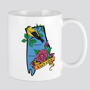 Alabama Map Mug