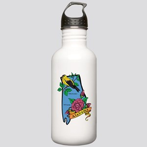 Alabama Map Stainless Water Bottle 1.0L