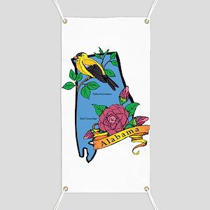 Alabama Map Banner