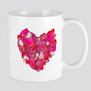 Valentine Heart of Roses Mug
