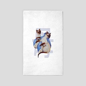 Mama Cat 3'x5' Area Rug