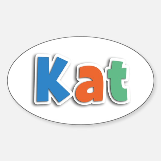 Kat Spring11B Oval Decal