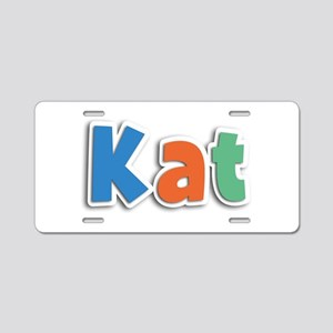 Kat Spring11B Aluminum License Plate