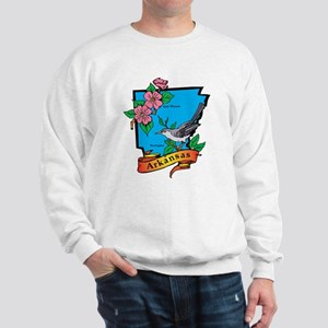 Arkansas Map Sweatshirt