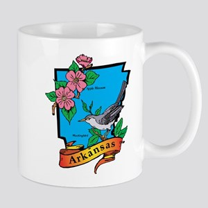 Arkansas Map Mug