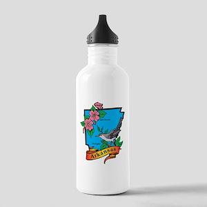 Arkansas Map Stainless Water Bottle 1.0L