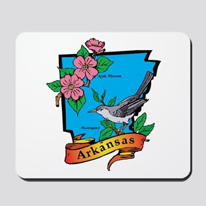 Arkansas Map Mousepad
