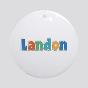 Landon Spring11B Round Ornament