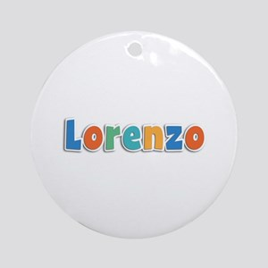 Lorenzo Spring11B Round Ornament