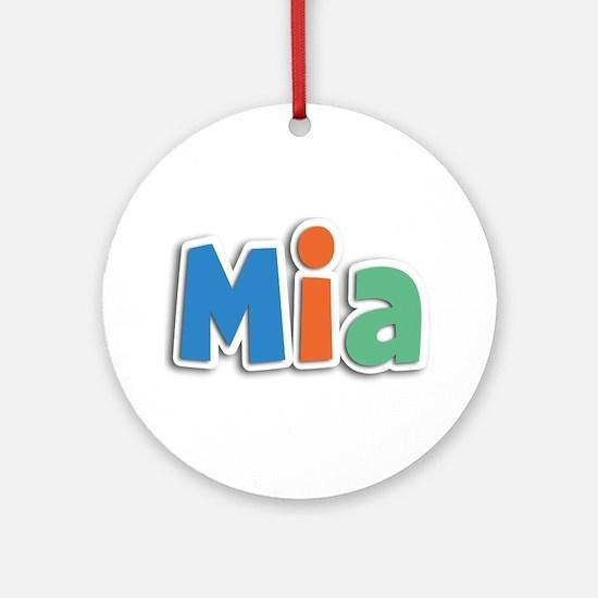 Mia Spring11B Round Ornament