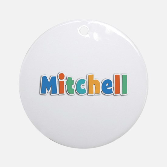 Mitchell Spring11B Round Ornament