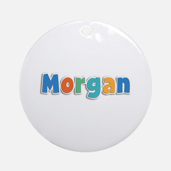Morgan Spring11B Round Ornament