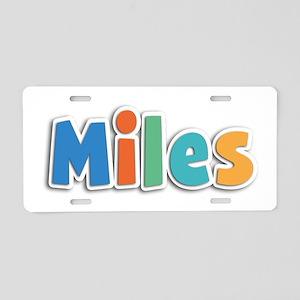 Miles Spring11B Aluminum License Plate