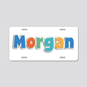 Morgan Spring11B Aluminum License Plate