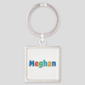 Meghan Spring11B Square Keychain