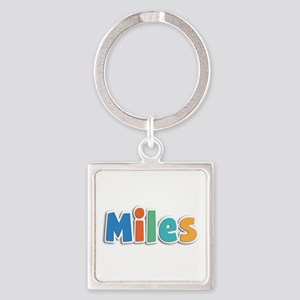 Miles Spring11B Square Keychain