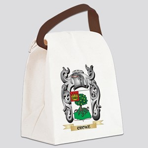 Crowe Family Crest - Crowe Coat o Canvas Lunch Bag