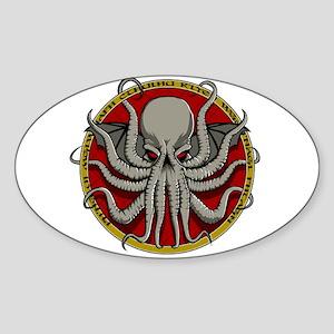 Cthulhu Sigil Sticker (Oval)